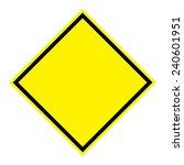 blank sign board on white... | Shutterstock . vector #240601951
