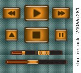 media player interface elements