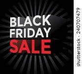 black friday sale    Shutterstock .eps vector #240707479