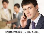 portrait of successful... | Shutterstock . vector #24075601