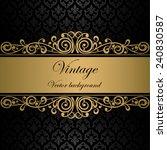 vintage vector background   Shutterstock .eps vector #240830587