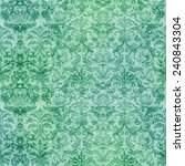 Seamless Damask Tapestry