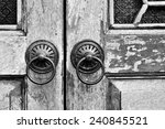 Chinese Style Antique Door...