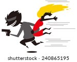 kidnapping | Shutterstock .eps vector #240865195