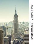 new york   march 5   empire...   Shutterstock . vector #240917449