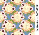 abstract elegance seamless... | Shutterstock . vector #240942541