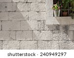 Stone Blocks Wall With Detail...