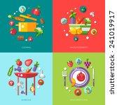 illustration of flat design...   Shutterstock . vector #241019917