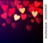 Shiny Hearts Bokeh Valentine's...