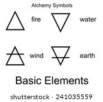 alchemy vector icons. four... | Shutterstock .eps vector #241035559