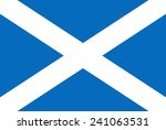 flag of scotland | Shutterstock .eps vector #241063531