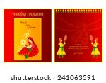 vector illustration of indian... | Shutterstock .eps vector #241063591