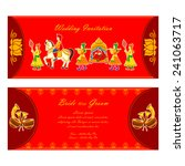vector illustration of indian... | Shutterstock .eps vector #241063717