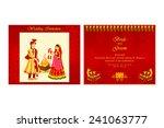 vector illustration of indian... | Shutterstock .eps vector #241063777