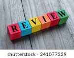 concept of review | Shutterstock . vector #241077229