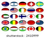 flag buttons | Shutterstock . vector #2410999