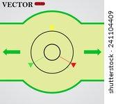 gps navigation   vector  eps 10