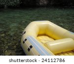 detail of rubber boat for...   Shutterstock . vector #24112786