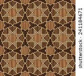 arabesque seamless pattern in... | Shutterstock . vector #241184671
