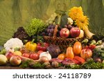 Still Life With Fruits And...