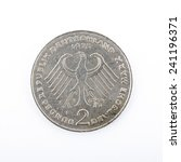 two deutschmark  meanwhile not... | Shutterstock . vector #241196371