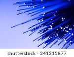 fibre optics fibre ends cables  | Shutterstock . vector #241215877