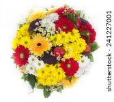 bouquet of chrysanthemums | Shutterstock . vector #241227001