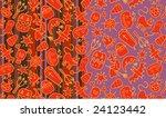 halloween patterns | Shutterstock .eps vector #24123442