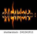 fire abstract and flames shapes ...   Shutterstock . vector #241241911