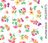 flower pattern | Shutterstock .eps vector #241245571