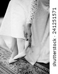 bride dresses shoes before the... | Shutterstock . vector #241251571