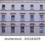 Renovated Old Building Facade ...