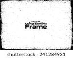 grunge frame   abstract texture.... | Shutterstock .eps vector #241284931