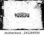 grunge texture   abstract stock ... | Shutterstock .eps vector #241284934
