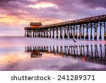 cocoa beach  florida  usa at... | Shutterstock . vector #241289371