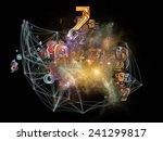 network series. backdrop of ... | Shutterstock . vector #241299817