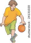 basketball | Shutterstock .eps vector #24131020