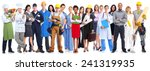group of workers people.... | Shutterstock . vector #241319935