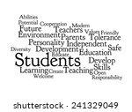 school vision on white... | Shutterstock . vector #241329049