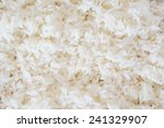 steam cooked rice background. | Shutterstock . vector #241329907