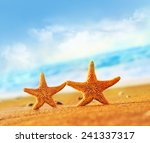 starfish on the beach | Shutterstock . vector #241337317