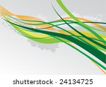 abstract vector background wit... | Shutterstock . vector #24134725