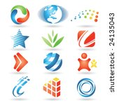 set of vector design elements 5 | Shutterstock .eps vector #24135043