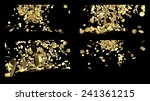 Composition Of Falling Gold...