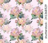 summer flower seamless pattern | Shutterstock . vector #241368529