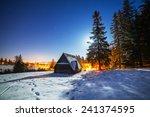 Wooden Shelter In Tatra...