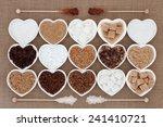 White And Brown Sugar Selectio...