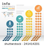 infographic vector template... | Shutterstock .eps vector #241414201
