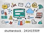 business insurance | Shutterstock . vector #241415509