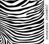 zebra stripes pattern ... | Shutterstock .eps vector #241448017